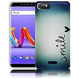 thematys Passend für Wiko Harry 2 Smile Handy-Hülle Silikon - staubdicht stoßfest und leicht - Smartphone-Case