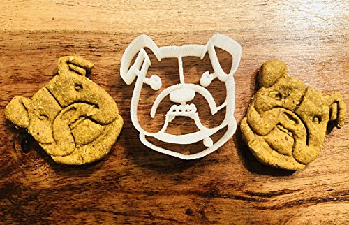 Ludo the Bulldog Cookie Cutter and Dog Treat Cutter - Dog Face