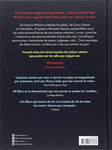 DESCARREGAR (Descargar) en PDF y EPUB Gratis y Complert el llibre Contes de bona nit per a Nenes Rebels de Elena Favilli