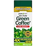 Green Coffee Bean Extract for Weight Loss Supplement | Purely Inspired Green Coffee Extract to Lose Weight | Dietary Supplements for Weight Loss | Non Stimulant Weight Loss Coffee Pills, 100 Count
