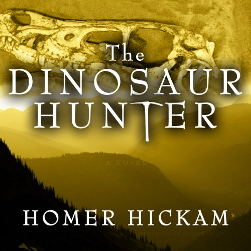 The Dinosaur Hunter audiobook cover art