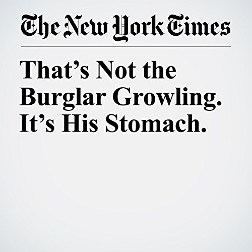 That's Not the Burglar Growling. It's His Stomach. copertina