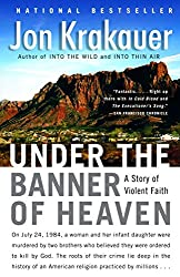 Amazing Psychology Books - Under the banner of Heaven