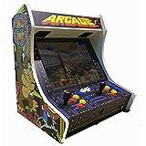 SATYCON Maquina Arcade PI 64GB WiFi 19' 2 MANDOS