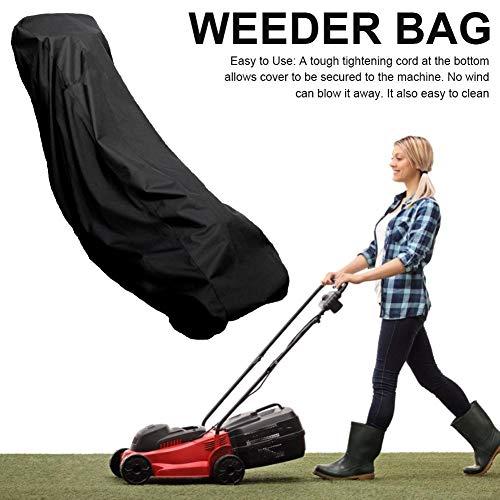 Funihut beschermhoes voor grasmaaiers, waterdichte afdekkingen van Weeder voor regen, polyester, Oxford-polyester 420D, duurzaam, grasmaaier, 74 x 39 x 25 inch
