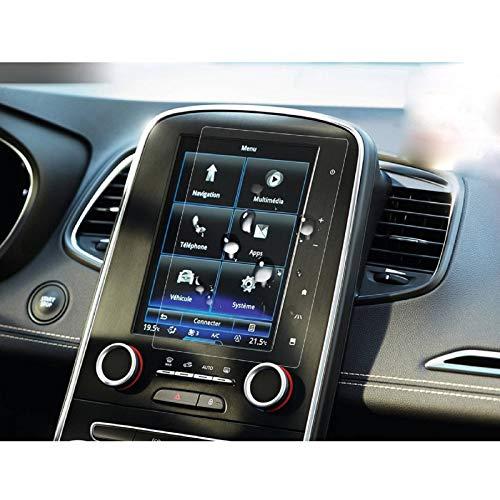 LFOTPP Renault Megane Scenic Espace Talisman 8,7 Pollici Navigazione Pellicola Protettiva in Vetro Temperato Screen Protector Film - 9H Antigraffio HD Alta Trasparente Glass (Migliorare)