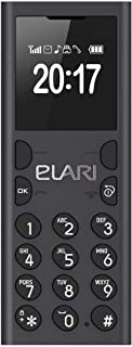 Ctroniq NanoPhone C Mobile Phone, Less than 512 MB Single SIM Black (Nanophone-C)