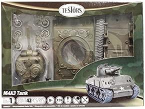 Testors Classic M4A3 Tank Model Kit (1:35 Scale)