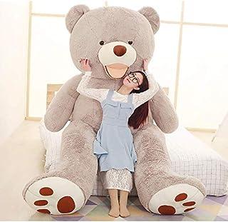 bananair Teddy GEANT XXL, pluche teddybeer enorm, voor verjaardagen, Kerstmis, kinderen, feest (grijs, 340 cm)