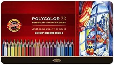 Koh-I-Noor Polycolor set de 72u de lápices para colorear