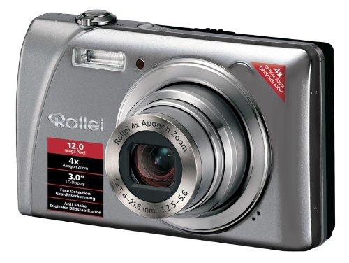 Rollei Flexline 200 - Cámara Digital Compacta 12 MP - Plata