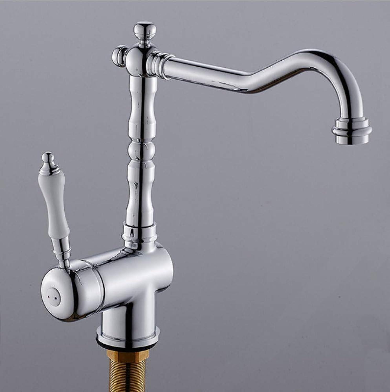 Xiujie Wasserhhne Europische Küche 360-Grad-Dreh- Wasserhahn Einhand-Einlochmontage Hei Und Kalt über Aufsatzbecken Wasserhahn