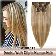 Best 10 inch clip in hair extensions Reviews