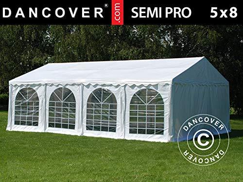 Dancover Partytent SEMI PRO Plus 5x8m PVC, Wit