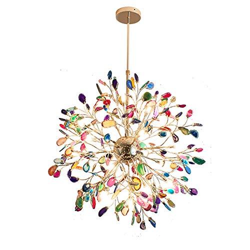 SVHK Iluminación Interior, araña Sala de Estar Dormitorio Decoración Colgante Luz Firefly Ball Luz de Techo Luz de Hierro Forjado Iluminación para la Cocina de la Cocina, Comedor Lámpara de Colgante