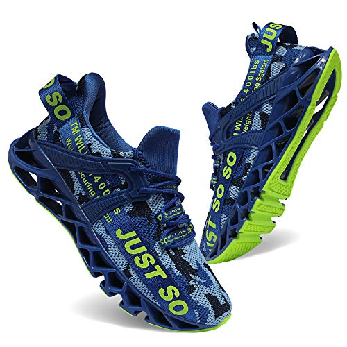 JSLEAP SLEAP Laufschuhe Herren Sportschuhe Straßenlaufschuhe Sneaker Joggingschuhe Turnschuhe Walkingschuhe Traillauf Fitness Schuhe