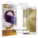 Guran [2 Paquete Protector de Pantalla para ASUS Zenfone 3 ZE520KL Smartphone Cobertura Completa Protección 9H Dureza Alta Definicion Vidrio Templado Película - Blanco