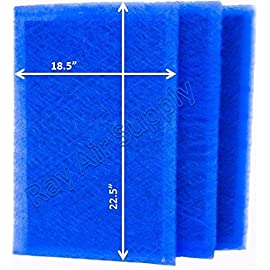 Rayair supply 20x25 ars rescue rooter air cleaner replacement filter pads 20x25 refills (3 pack) 1 free shipping three (3 changes) fiberglass media pads with activated carbon center per order. Ars rescue rooter compatible replacement media for a 20x25 filter frame
