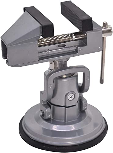 """popular Vacuum Base Vise popular Portable Base Vise 3.15"""" Jaw Width Pivots Multi-Angle Rotate 360°for new arrival Various Smooth Work Surfaces online"""