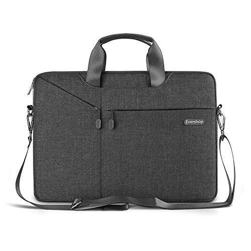3 in 1 Tasche für Laptop Tablet - Evershop Handtasche Schultertasche Aktenkoffer für Macbook Air Pro / Notebook / Oberfläche mit Bildschirmdiagon