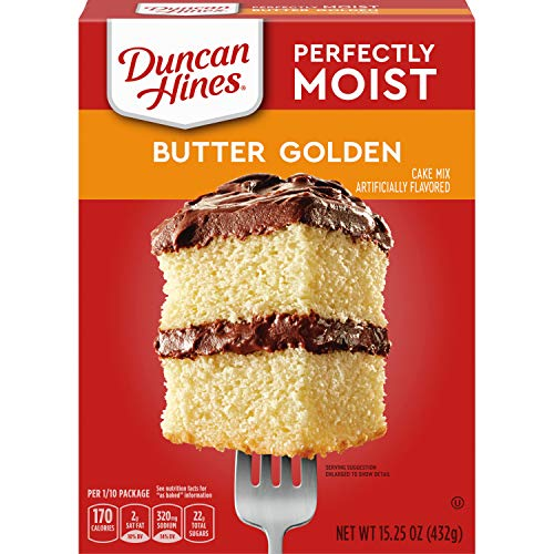 Duncan Hines Signature Golden Butter Recipe Cake Mix (3 Pack)