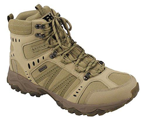 MFH Einsatzstiefel Tactical Trekking-Schuh Knöchelhoch Arbeitsschuh Wanderschuh Bergschuh Outdoorschuh Größe 39-46 (44)