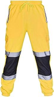 Amazon Es Amarillo Pantalones Hombre Ropa