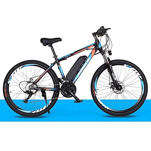 "JXXU Elektro-Mountainbike for Erwachsene, 250W Ebike 26\"" Fahrräder All Terrain Stoß-, 36V 10Ah austauschbaren Lithium-Ionen-Batterie-Gebirgsfahrrad for Männer Frauen (Color : A)"