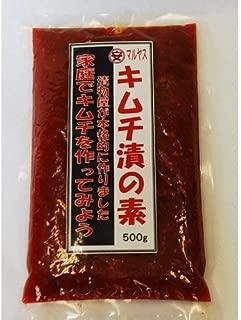 マルヤス味噌 キムチ漬けの素 500g
