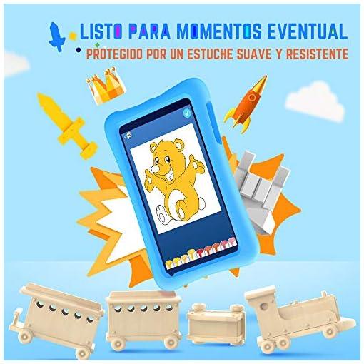 Vankyo Tablet para Niños con Cámaras de 5MP y 2MP, Tablet Infantil con ROM de 32GB, Tablet Niños con WiFi Processore… 7