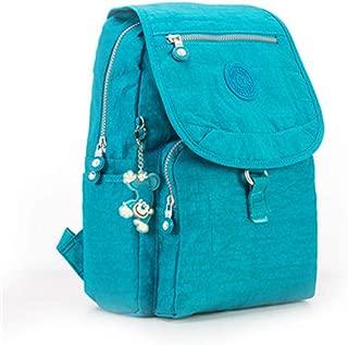 Small Backpack for Teenage Girls Women's Solid Nylon Bagpack