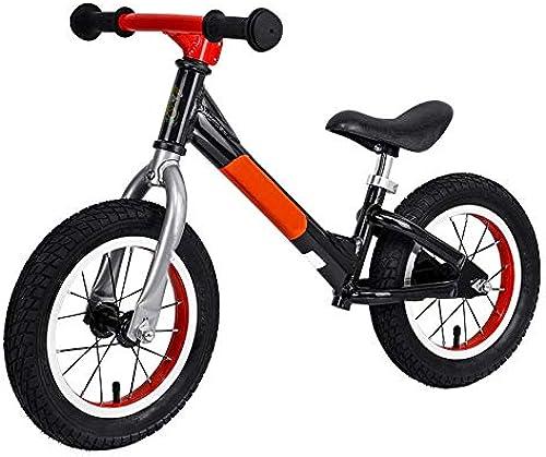 GSDZN - Laufrad, Kohlenstoffstahl-Rahmen, Pneumatisches Rad Eva Weißhes Rad, Ultra Leichtgewichtler 2,8 Kg, 2-6 Jahre Alt, 80-120cm