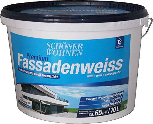 10 Liter SCHÖNER WOHNEN Siliconharz Fassadenfarbe