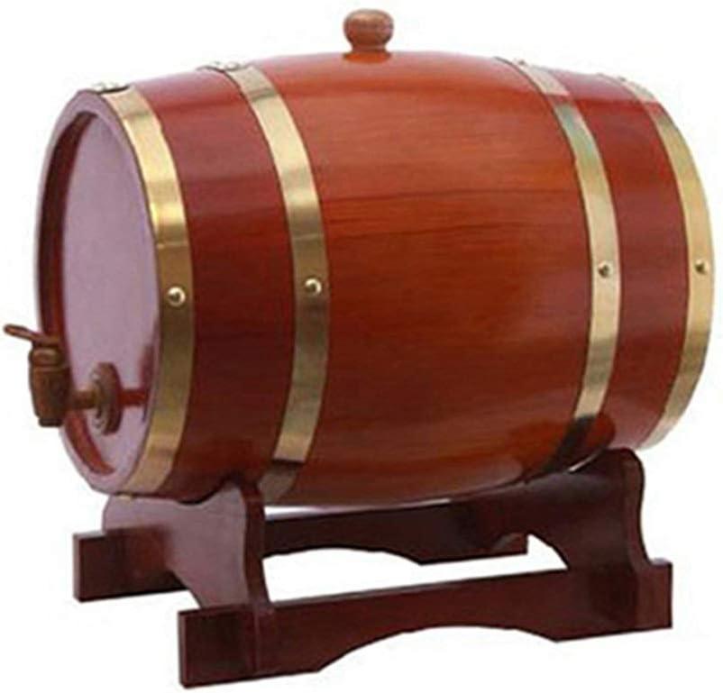 Wine Ranking TOP9 Barrel Wooden 15L Oak Vintage Opening large release sale Buck Home Style Decor