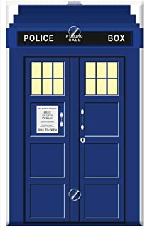 Single-Gang Blank Wall Plate Cover - Tardis Doctor Who Time Travel Time Machine