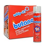 Whip-it! (1 Master case) Refined Butane Fuel 96 Cans 5X Butane