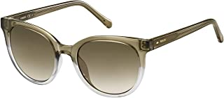 Fossil Sunglasses for Women, Bronze