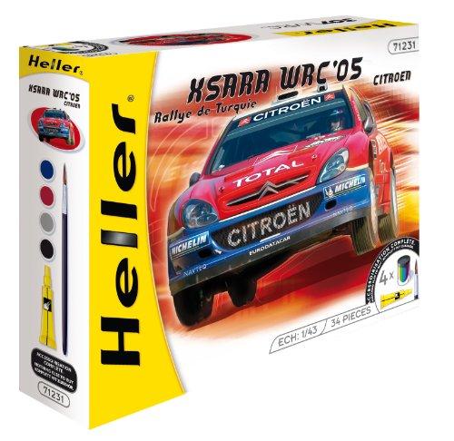 Heller 1:43 Gift Set - Peugeot 206 WRC \'03 - HEL50113G