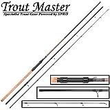 Trout Master Tactical Sbiro 3m 3-25g - Forellenrute zum Sbirolinoangeln, Angelrute zum Forellenangeln, Sbirolinorute für Forellen