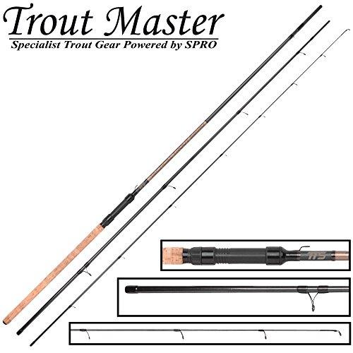 Trout Master Tactical Sbiro 3,30m 3-25g - Sbirolinorute zum Forellenangeln, Angelrute für Sbirulinos, Forellenrute für Sbirolinos