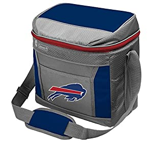 Coleman NFL Soft-Sided Insulated Cooler Bag, 16-Can Capacity, Buffalo Bills