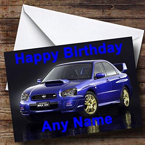 Automotor Vrachtwagen Gepersonaliseerde Verjaardagskaart - Enorme selectie