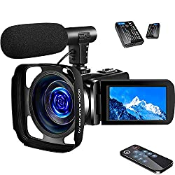 SAULEOO 4K Video Camera Camcorder
