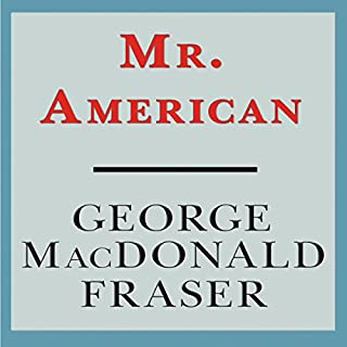 Mr. American audiobook cover art