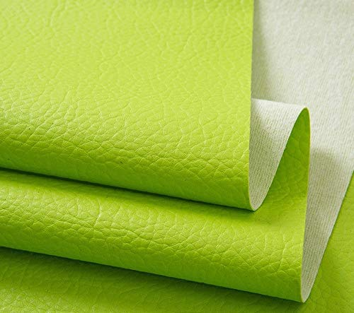 Xia Yuuu Net PVC packaging stationery leather Grain Faux Leather Fabric Leatherette Vinyl Leather Cloth Upholstery Fabric Material Material Clothing Dressmaking Upholstery Width 140cm 1Metres