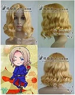 FidgetGear APH France Francis Blonde Cosplay Wig Pretty Short Blonde Cos Wig/Hair