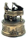 Musicbox World - Caja de música, diseño de Mozart con la melodía de la Flauta Mágica, Multicolor