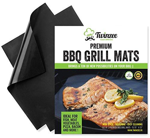 Tapis de Cuisson Haute Qualité pour Barbecue et Four - Set de...