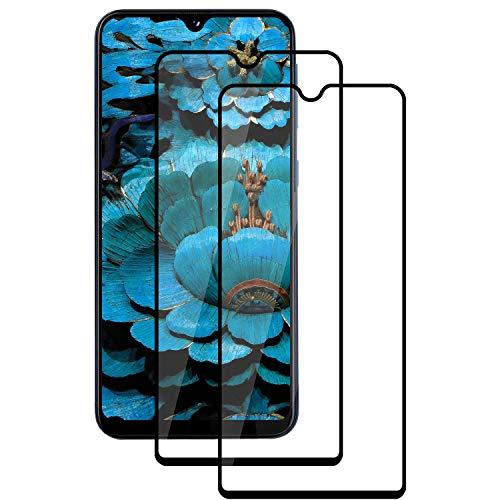 PUUDUU Vetro Temperato per Samsung A20e, [2 Pezzi] Pellicola Protettiva Copertura Completa Curvata 9H, AntiGraffio, Senza Bolle, di Alta qualità per Samsung A20e