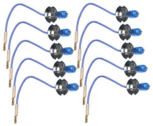 AERZETIX: Bombillas H3 12V 55W con efecto Xenón Luz blanco (10 piezas)